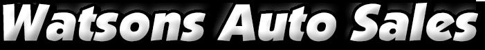 Watsons Auto Sales Logo