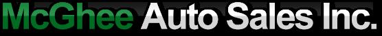 McGhee Auto Sales Logo