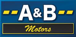 A & B Motors Logo
