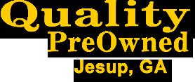 Quality PreOwned Jesup Logo