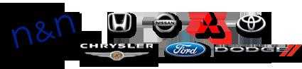 N & N Auto Sales Logo