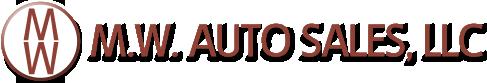 M.W. Auto Sales Logo
