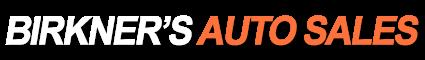 Birkner's Auto Sales Logo