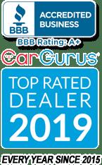 BBB & Cargurus logos