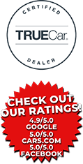 TrueCar and Ratings logos