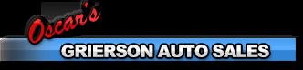 Oscar's Grierson Auto Sales Logo
