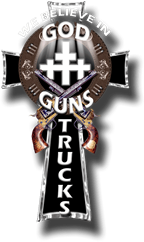 god guns cross logo