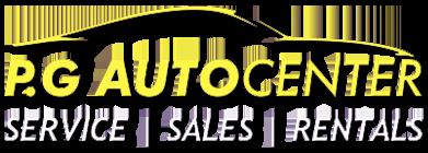 P.G. Auto Center Logo