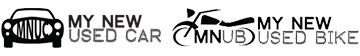 My New Used Car Logo