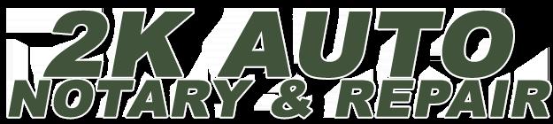2k Auto Notary & Repair Logo
