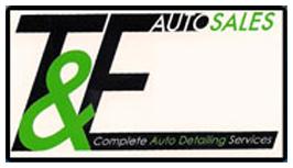 T & E Auto Sales Logo