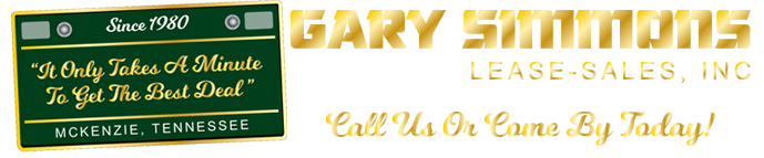 Gary Simmons Lease Sales Logo