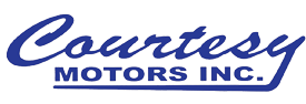 Courtesy Motors Inc. Logo