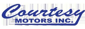 Courtesy Motors Inc. Logo