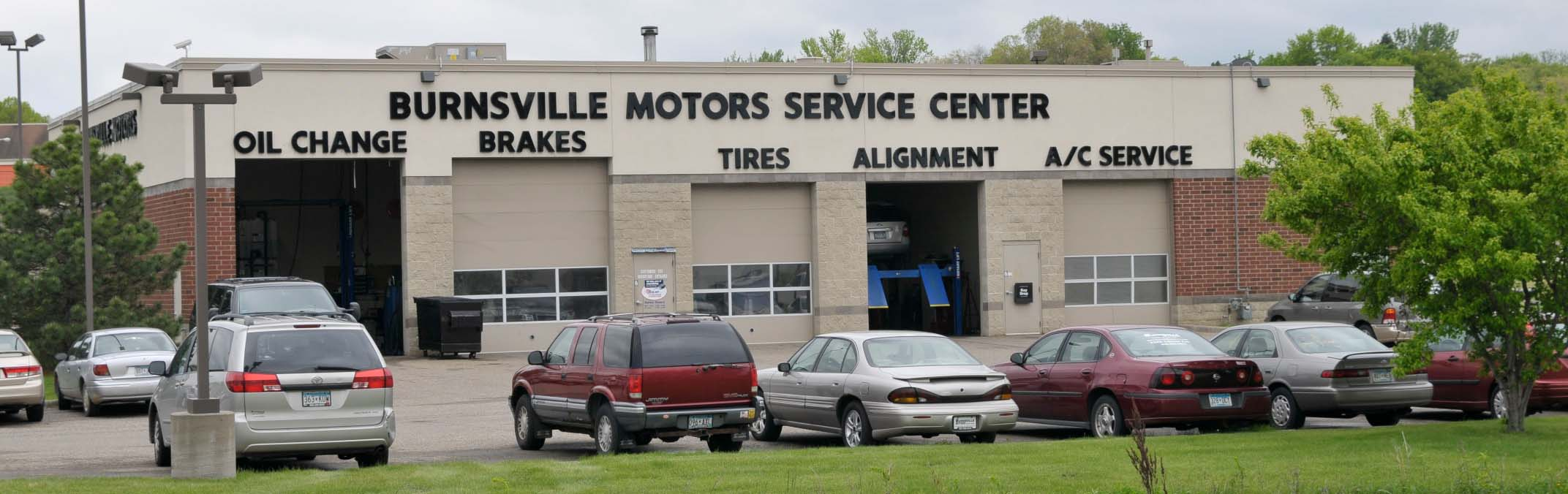 Service center at Burnsville Motors