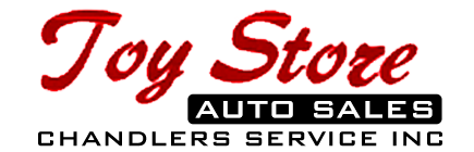 Toy Store Auto Sales Logo