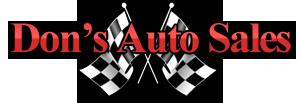Dons Auto Sales Logo