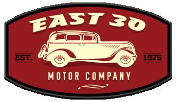 East 30 Motor Company Logo