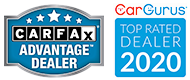 CarFax Advantage Dealer Car Gurus Top Rated Dealer 2020