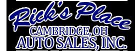 Rick's Place Auto Sales Logo