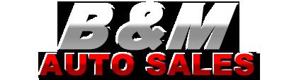 B&M Auto Sales Logo