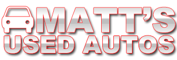 Matt's Used Autos Logo