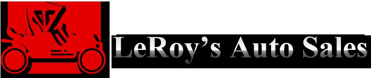 LeRoy's Auto Sales & Service Logo
