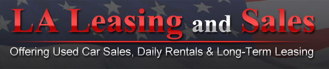 LA Leasing and Sales Logo