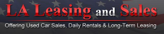 LA Leasing and Sales Logo