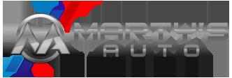 Marty's Auto Logo