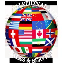 International Auto Sales and Service Logo
