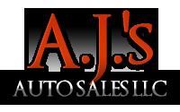 A.J.'s Auto Sales LLC Logo