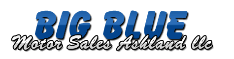 Big Blue Motor Sales Ashland Logo
