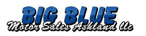Big Blue Motor Sales Ashland Logo