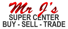 Mr. J's Super Center Logo