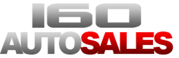 160 Auto Sales Logo