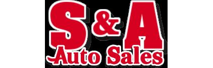 S & A Auto Sales Logo