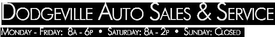 Dodgeville Auto Sales & Service Logo