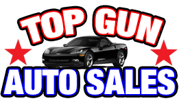 Top Gun Auto Sales Logo