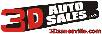 3 Digit Auto Sales Logo