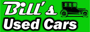 Bill's Used Cars Logo