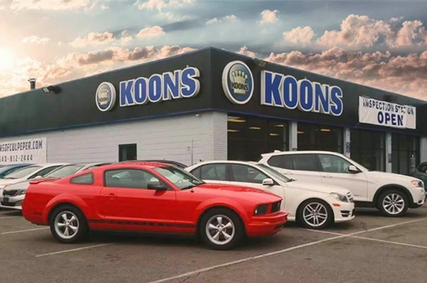 Koons automotive lot