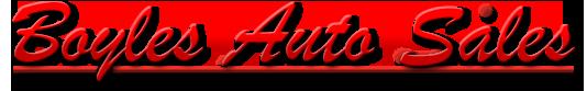 Boyles Auto Sales Logo