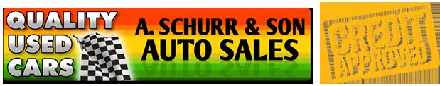 A Schurr & Son Auto Sales LLC Logo