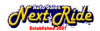 Next Ride Auto Sales Logo
