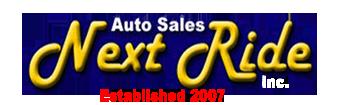 Next Ride Auto Sales Logo