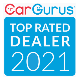 Car Gurus Top Rated Dealer 2021 Badge