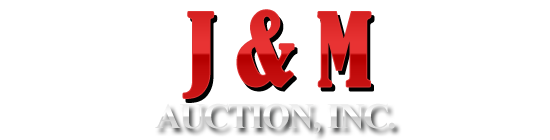 J & M Auction, Inc. Logo