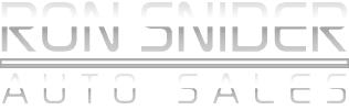 Ron Snider Auto Sales Logo