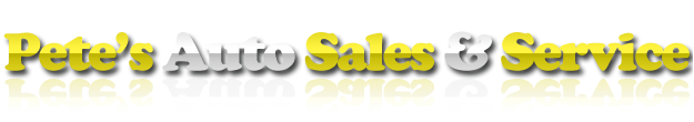 Pete's Auto Sales Logo